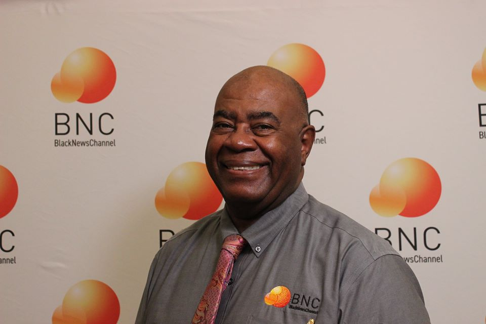 Gary Wordlaw, «orchestra conductor» of  Black News Channel TV
