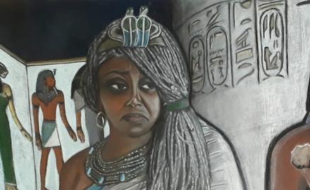 Tiyi, une des plus puissantes femmes de l'histoire