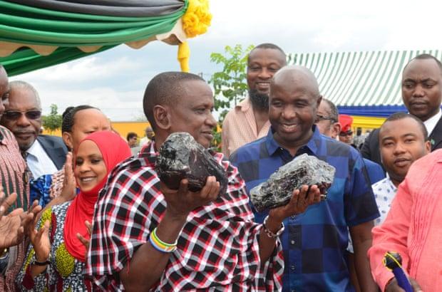 Un Tanzanien découvre des pierres précieuses valant 3,3 millions de $