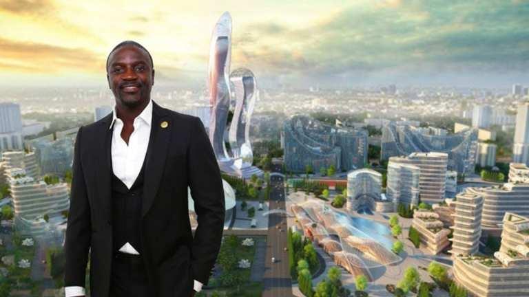 Akon City, la ville ultra-moderne d'Akon au Sénégal sera prête en 2030