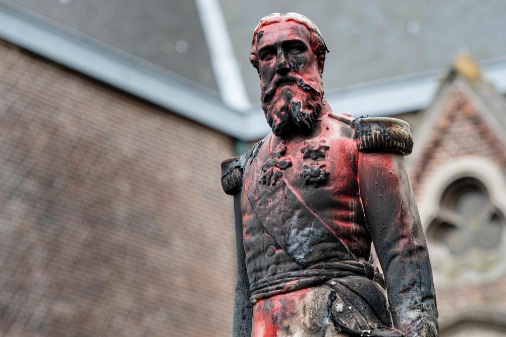 Belgique: plusieurs statues de Léopold II vandalisées