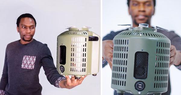 Cet homme a créé une cuisinière sans fumée qui charge les téléphones