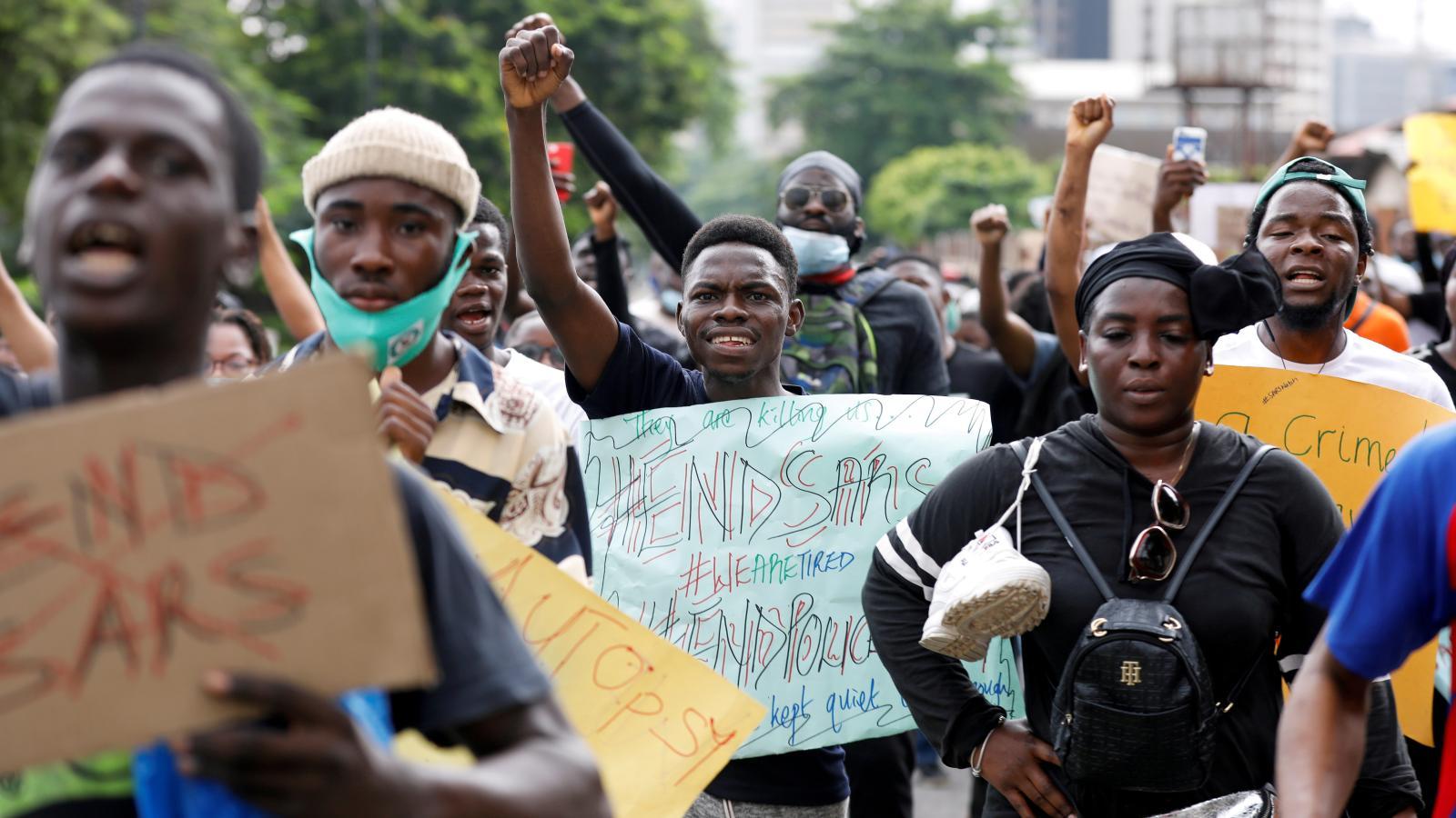 #EndSARS, le mouvement social Nigérian contre la brutalité policière
