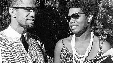La première rencontre entre Malcolm X & Maya Angelou