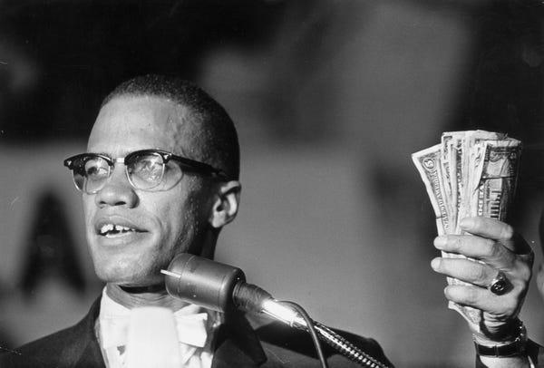 Malcolm X sur le pouvoir de l'économie noire