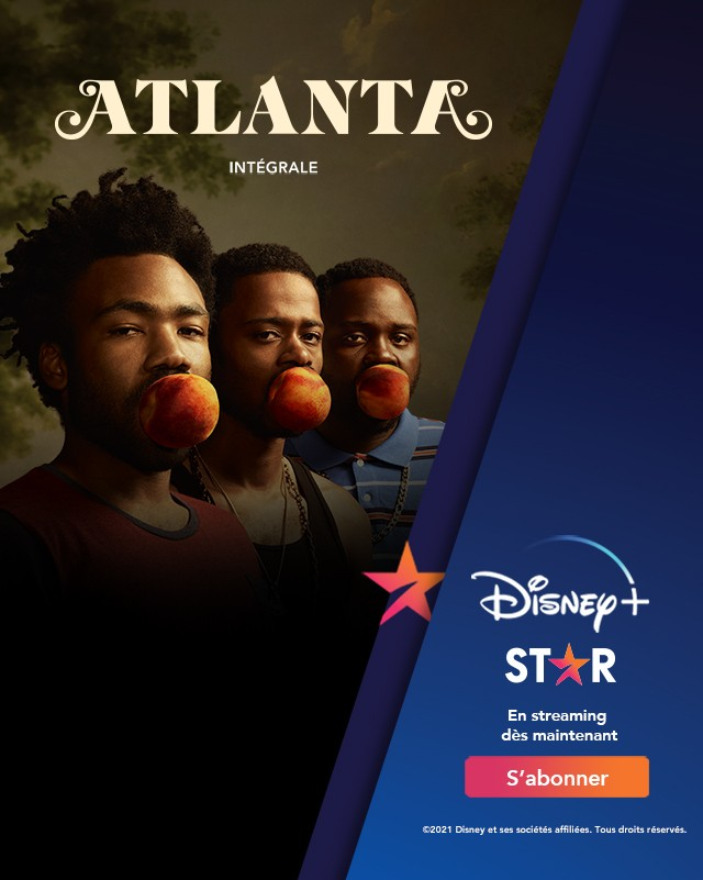 Atlanta disponible sur Disney+ Star