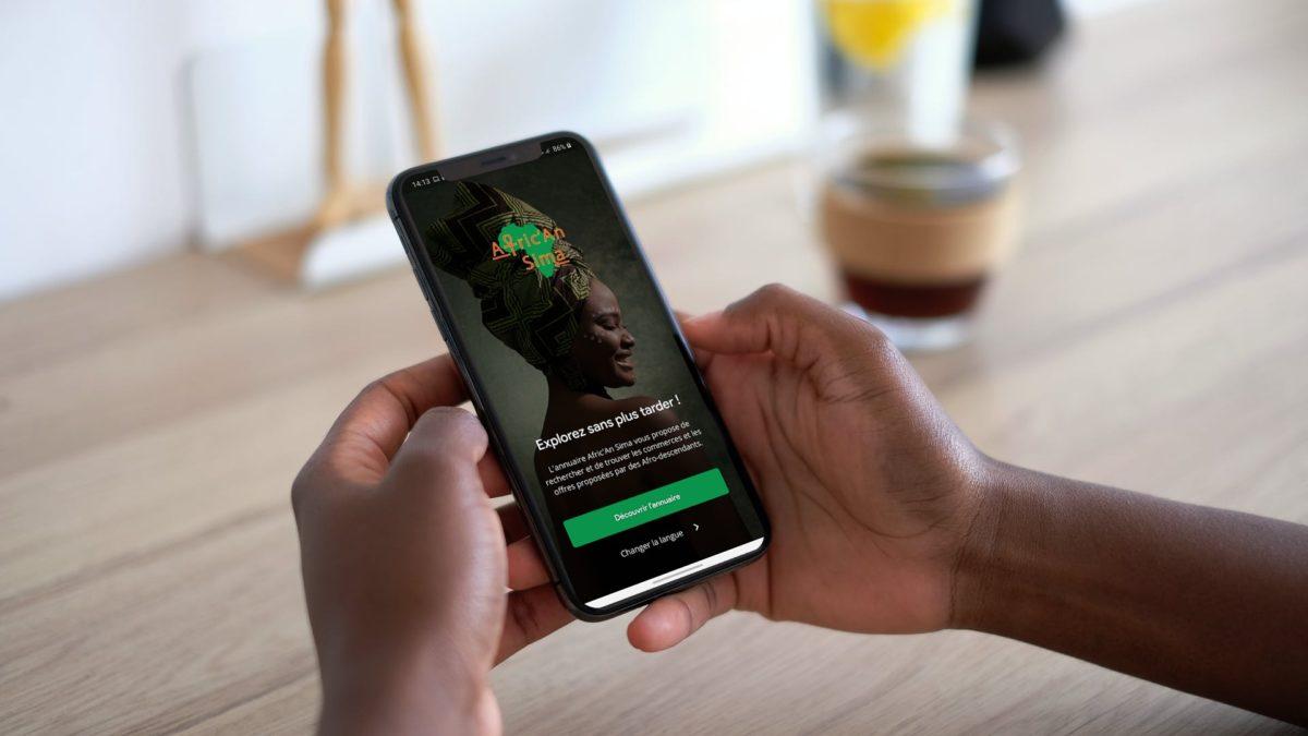 Afric'An Sima: l'application qui recense les commerces et événements afros!