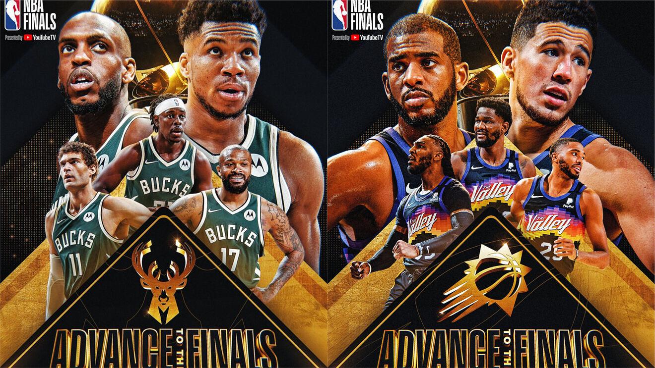L'affiche des finales - The greek freak champion NBA