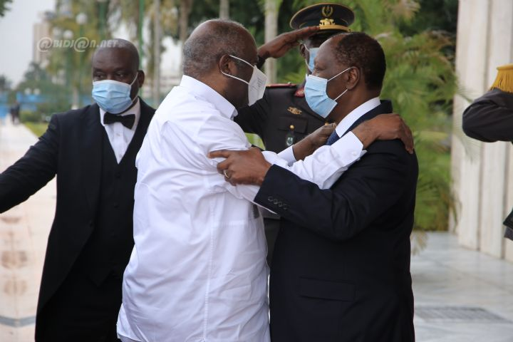 rencontre Ouattara-Gbagbo