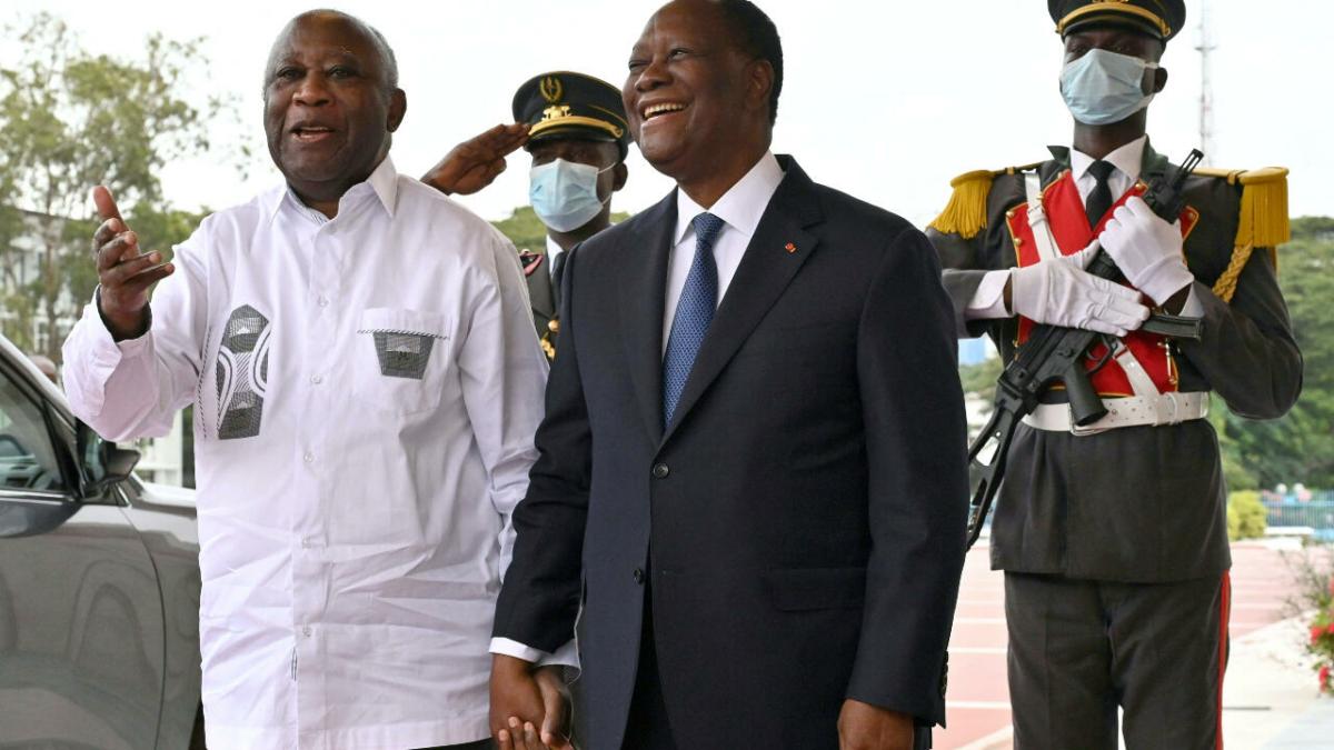 Côte d'Ivoire : première rencontre Ouattara-Gbagbo depuis 10 ans