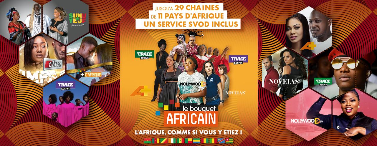 L'offre du Bouquet Africain