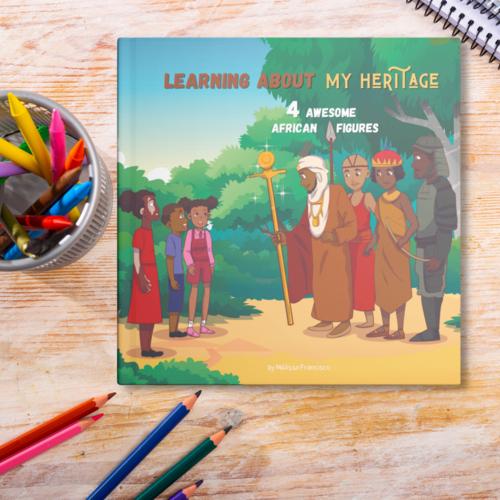 Mon héritage afro: un livre qui valorise votre enfant!